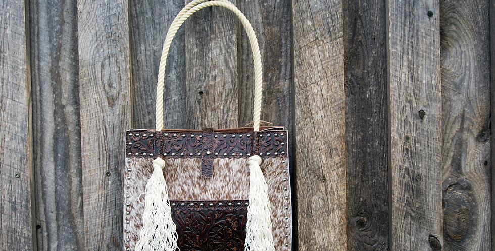 Red Horse Design Company: Rope Handle Tote - #310