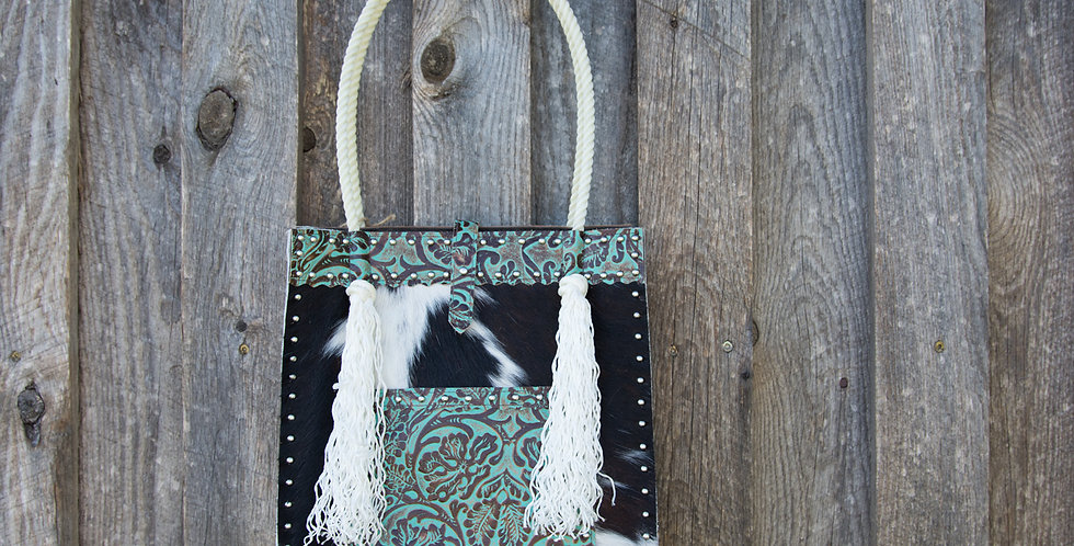 Red Horse Design Company: Rope Handle Tote - #306