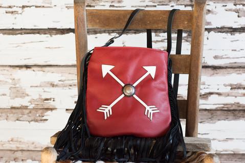 G13 RedPouch Crossed Arrows