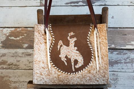 #54Big Flap Bucking Horse