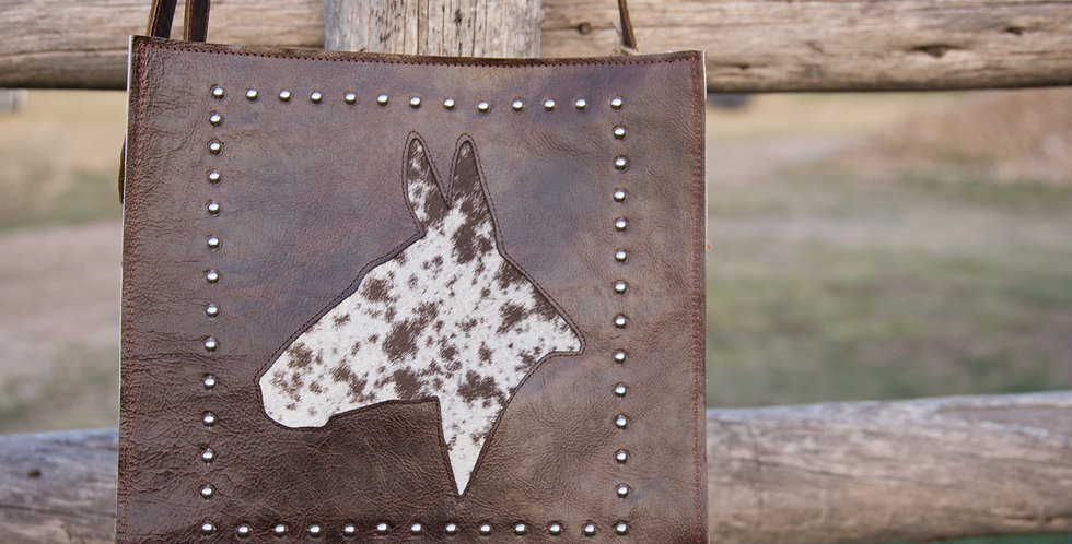 Red Horse Design Company: Mule Head Tote - #3