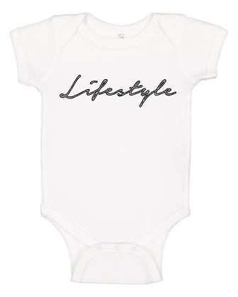 Infant White Onesie