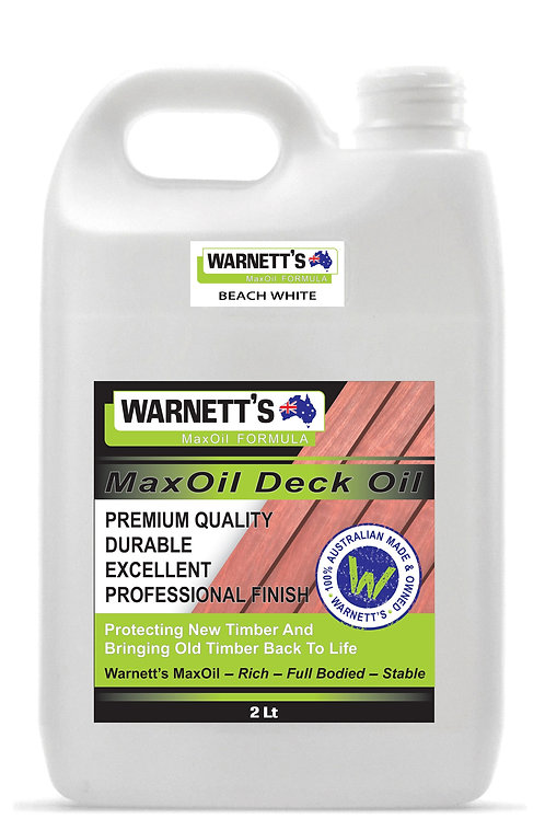 White Decking Oil and Fence Oil