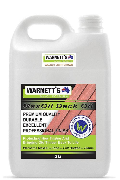 Walnut Light Brown Deck & Fence Oil