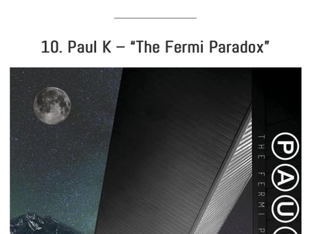 """""""The Fermi Paradox"""" : Top 10 Concepts of 2018 on The Prog Mind"""