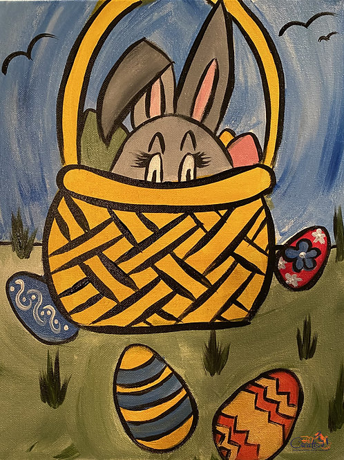 """Paint Party """"To-Go"""" - SOME BUNNY'S PEEKING"""