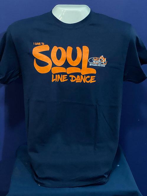 BCAC T-Shirt - I Love to Soul Line Dance