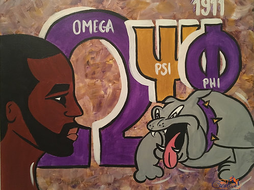 "Paint Party ""To-Go"" - DIVINE 9: OMEGA PSI PHI"