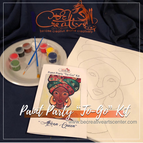 """Paint Party """"To-Go"""" Kits"""
