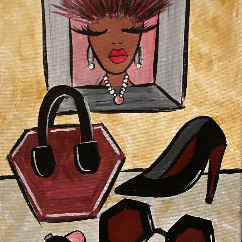 Virtual Paint Party with BE! Creative - ACCESS-HER-IZE