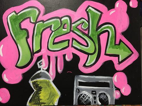 """Paint Party """"To-Go""""- FRESH GRAFITTI"""