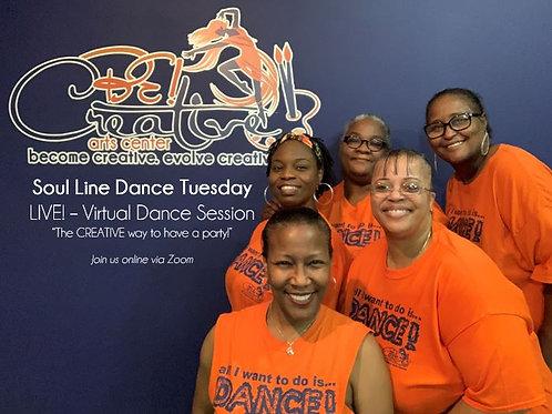 Soul Line Dance Tuesday - DONATION