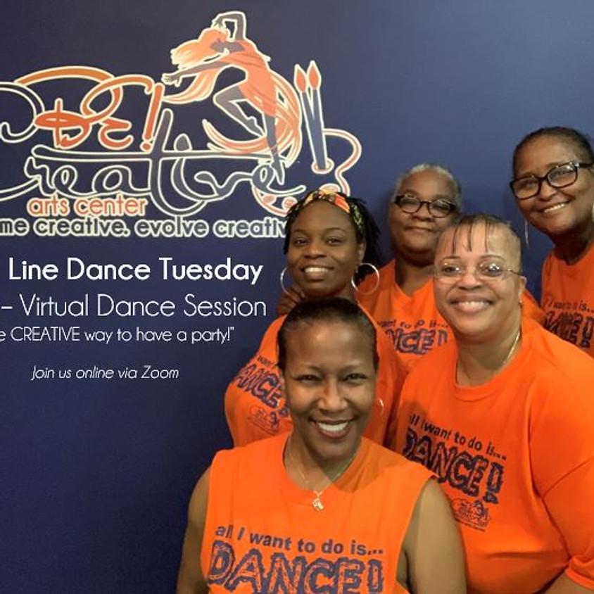 Soul Line Dance Tuesday -- LIVE! - 06.15.21