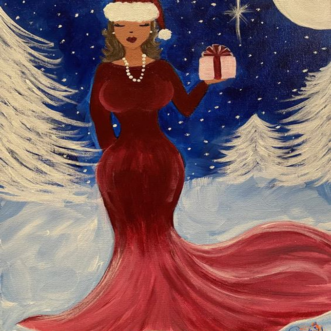 Virtual Paint Party with BE! Creative - MY KIND OF CHRISTMAS