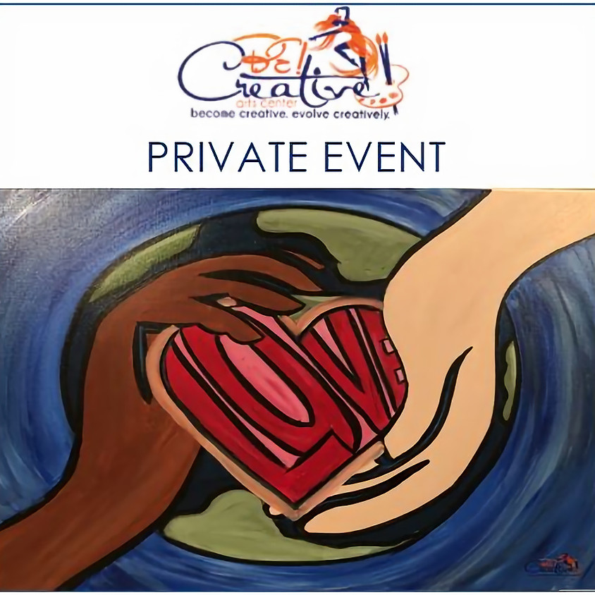 PRIVATE - Virtual Paint Party for Attiyya and Aleshia