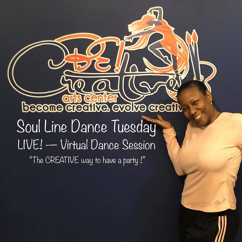 Soul Line Dance Tuesday -- LIVE!