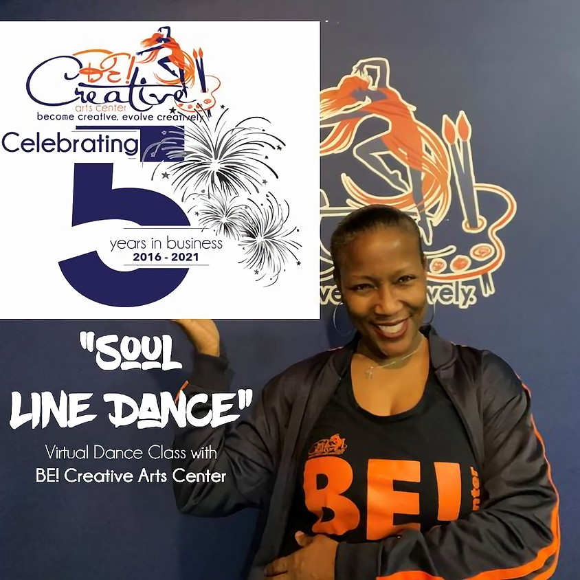 Soul Line Dance (Virtual Dance Class) - 5 Year Anniversary Celebration