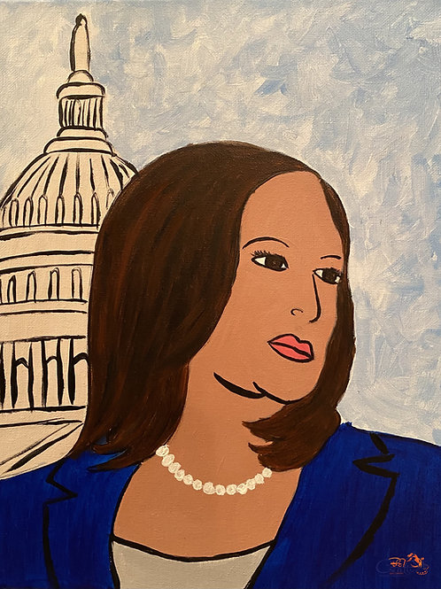 "Paint Party ""To-Go"" - VICE PRESIDENT KAMALA HARRIS"