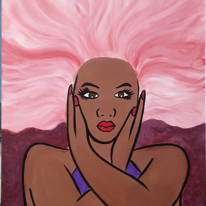 Virtual Paint Party with BE! Creative - FEELIN' BEAUTIFUL