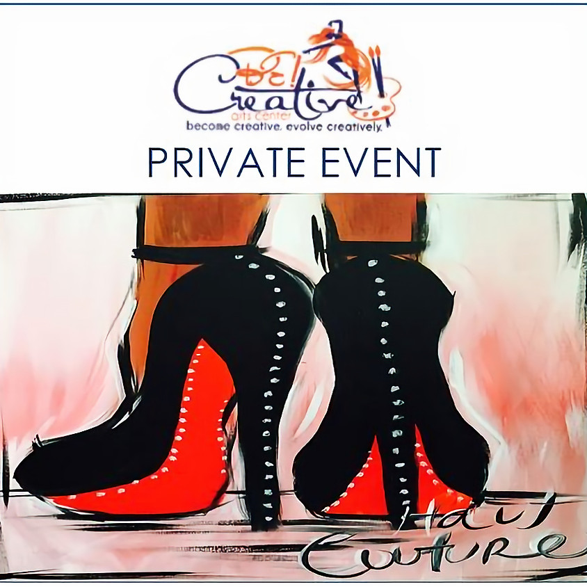 PRIVATE - Virtual Paint Party for Natasha Cross