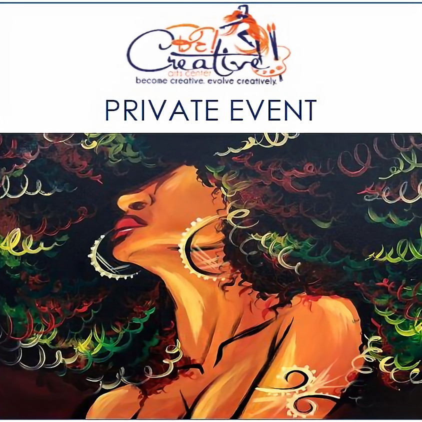 PRIVATE - Virtual Paint Party for Cherlya