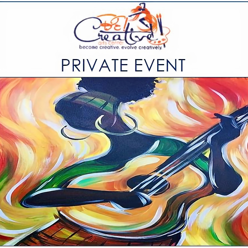 PRIVATE - Virtual Paint Party for Andria Simpson