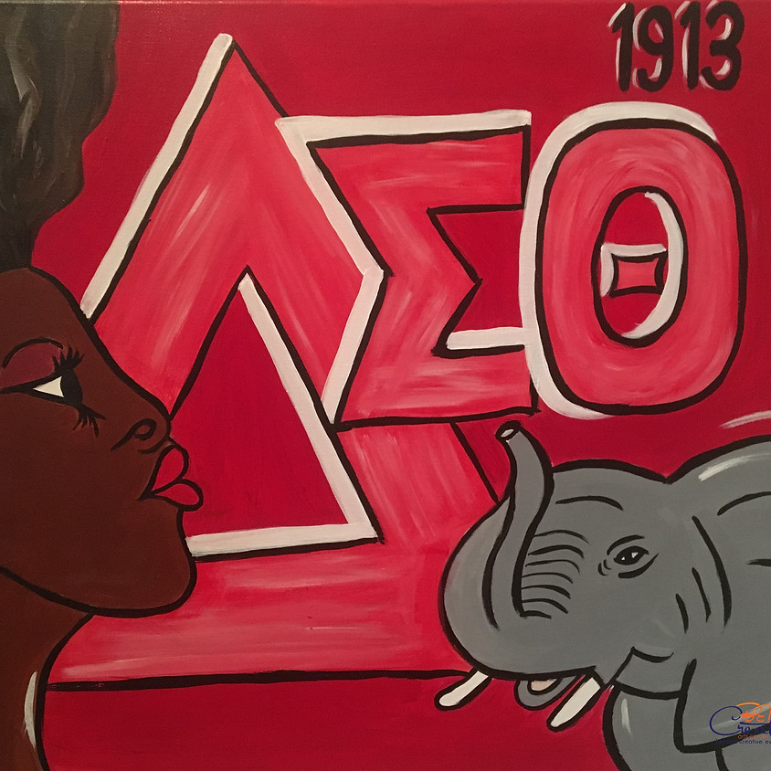 PRIVATE - Virtual Paint Party for DST Mu Revelations 43rd Anniversary