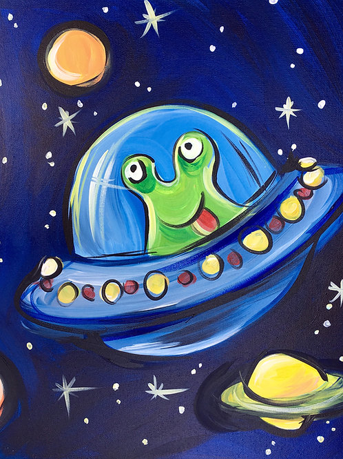 """Paint Party """"To-Go"""" - OUT IN SPACE"""
