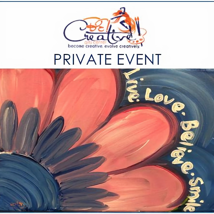 PRIVATE - Virtual Paint Party for Tara Luther