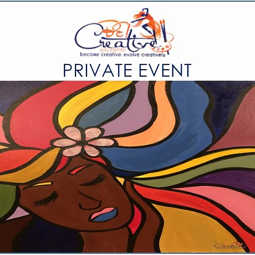 PRIVATE - Virtual Paint Party for Eunice Bias