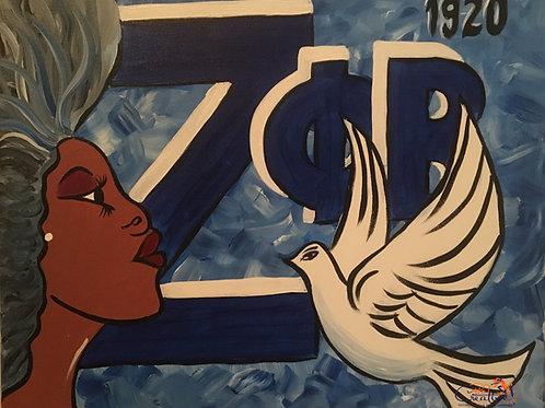 """Paint Party """"To-Go"""" - DIVINE 9: ZETA PHI BETA"""