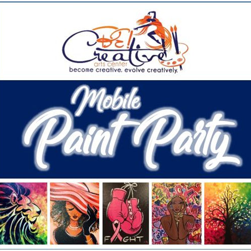 Private Mobile Paint Party (DEPOSIT)