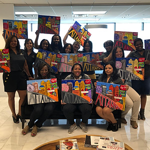 Paint Party - ABOUT ATLANTA (hosted by The Cochran Firm - Atlanta)