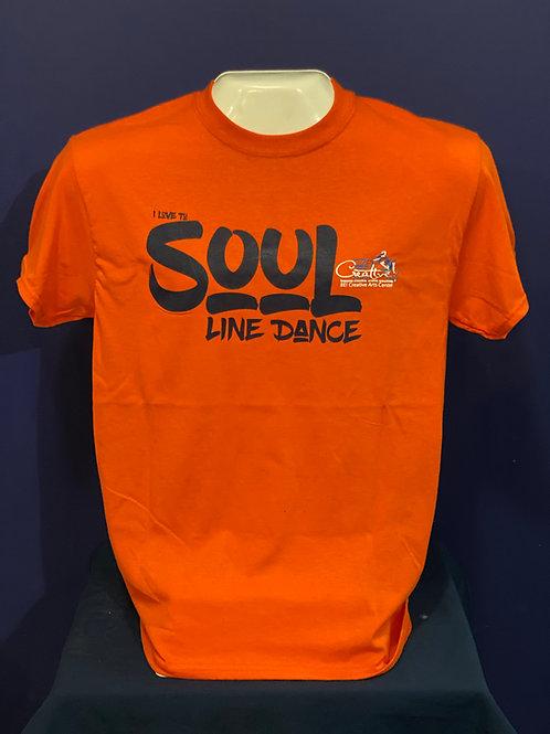 BCAC T-Shirt - I Love to Soul Line Dance (O)