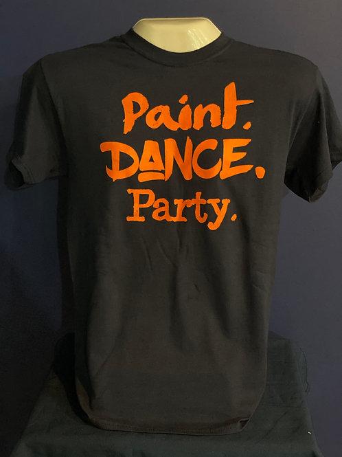BCAC T-Shirt - Paint. Dance. Party.