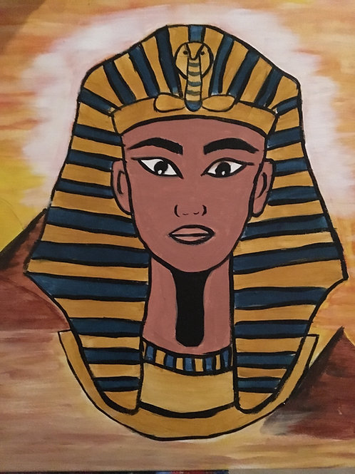 """Paint Party """"To-Go"""" - NUBIAN ROYALTY (KING)"""