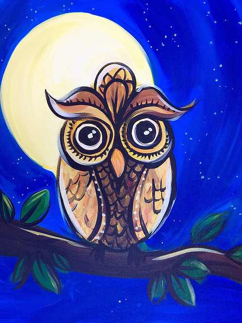 "Paint Party ""To-Go"" - OWL"