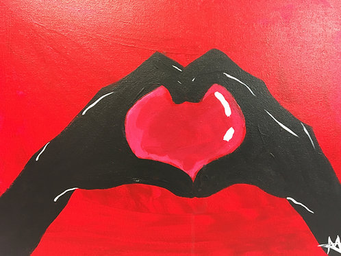 """Paint Party """"To-Go"""" - HANDS OF HEART"""