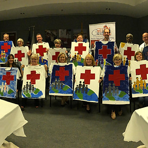 Paint Party - AMERICAN RED CROSS (Hosted by Jennifer of ARC)