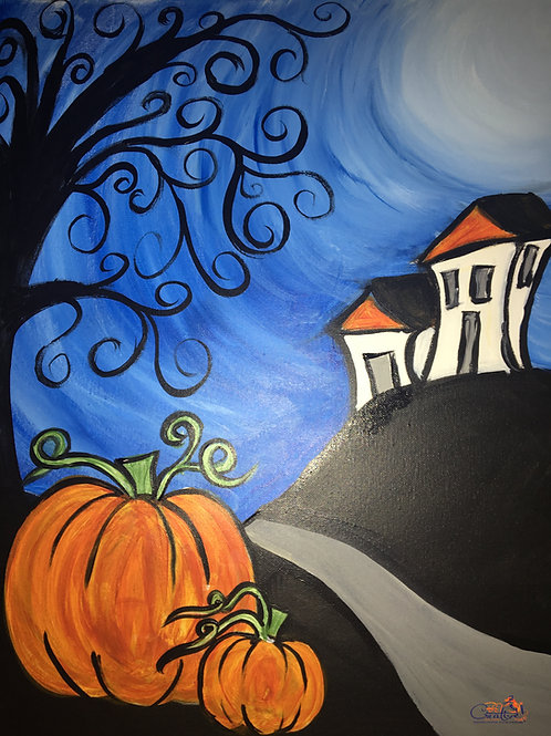 """Paint Party """"To-Go""""- HOUSE IN THE FALL"""