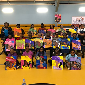 Paint Party Fundraiser - HER HAT (Mt. Ephraim Dance Ministry)
