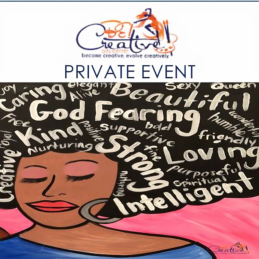 PRIVATE - Virtual Paint Party for Alvilda