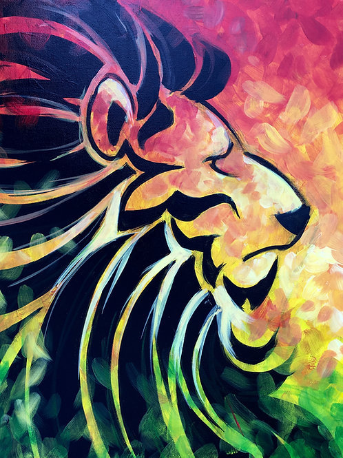"""Paint Party """"To-Go"""" - LION KING"""