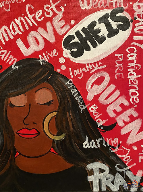 """Paint Party """"To-Go"""" - SHE IS (PART II)"""