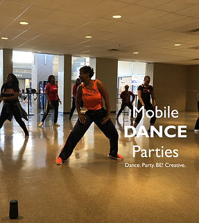 Mobie Dance Parties at BE! Creative Arts Center