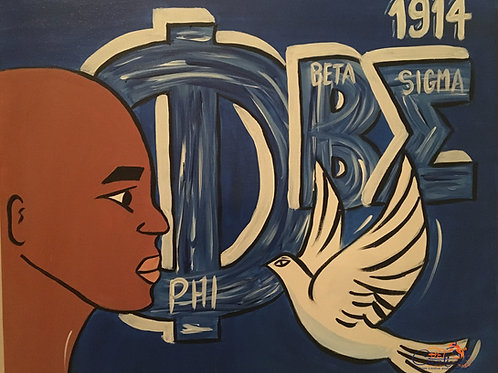 "Paint Party ""To-Go"" - DIVINE 9: PHI BETA SIGMA"