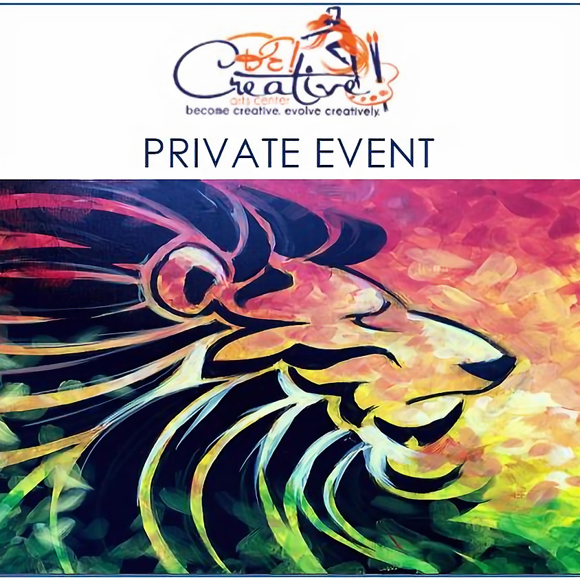 PRIVATE - Virtual Paint Party for Diane Baker