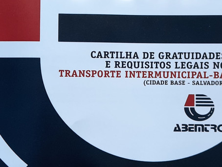 Cartilha de Gratuidade e Requisitos Legais no Transporte Intermunicipal - BA