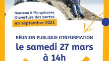 2e réunion publique le samedi 27 mars