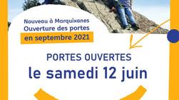 Portes ouvertes le 12 juin